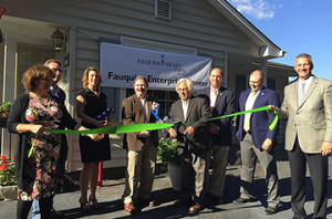 marshall incubator-ribbon cutting